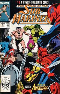 Cover Thumbnail for Saga of the Sub-Mariner (Marvel, 1988 series) #8