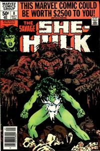 Cover Thumbnail for The Savage She-Hulk (Marvel, 1980 series) #8