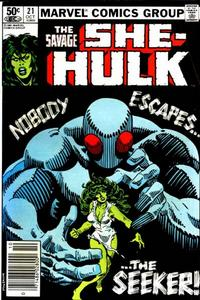 Cover Thumbnail for The Savage She-Hulk (Marvel, 1980 series) #21
