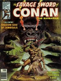 Cover Thumbnail for The Savage Sword of Conan (Marvel, 1974 series) #14