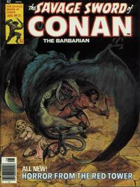 Cover Thumbnail for The Savage Sword of Conan (Marvel, 1974 series) #21