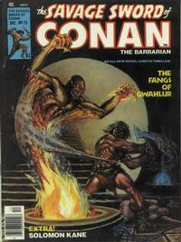 Cover Thumbnail for The Savage Sword of Conan (Marvel, 1974 series) #25