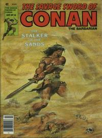 Cover Thumbnail for The Savage Sword of Conan (Marvel, 1974 series) #54