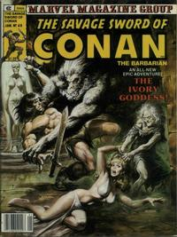 Cover Thumbnail for The Savage Sword of Conan (Marvel, 1974 series) #60