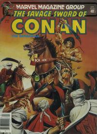 Cover for The Savage Sword of Conan (Marvel, 1974 series) #63
