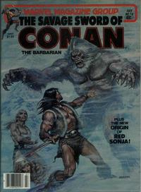 Cover Thumbnail for The Savage Sword of Conan (Marvel, 1974 series) #78