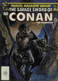 Cover Thumbnail for The Savage Sword of Conan (Marvel, 1974 series) #83 [Direct]