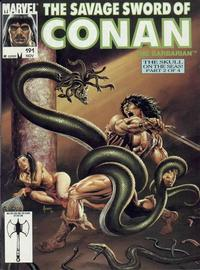 Cover Thumbnail for The Savage Sword of Conan (Marvel, 1974 series) #191