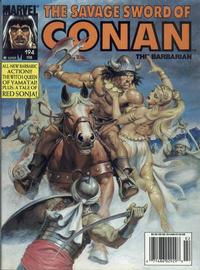 Cover Thumbnail for The Savage Sword of Conan (Marvel, 1974 series) #194