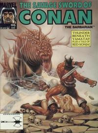 Cover Thumbnail for The Savage Sword of Conan (Marvel, 1974 series) #195