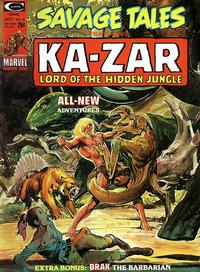 Cover Thumbnail for Savage Tales (Marvel, 1971 series) #6