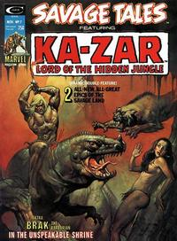 Cover Thumbnail for Savage Tales (Marvel, 1971 series) #7