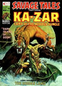 Cover Thumbnail for Savage Tales (Marvel, 1971 series) #9