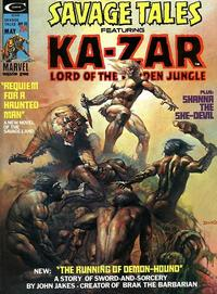 Cover Thumbnail for Savage Tales (Marvel, 1971 series) #10