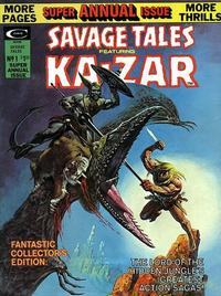 Cover Thumbnail for Savage Tales Featuring Ka-zar (Marvel, 1971 series) #12