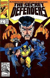 Cover Thumbnail for The Secret Defenders (Marvel, 1993 series) #1 [Direct]