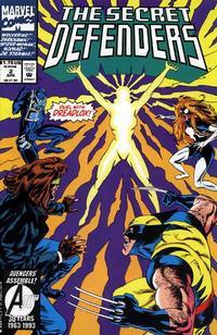 Cover Thumbnail for The Secret Defenders (Marvel, 1993 series) #2 [Direct]