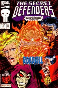 Cover Thumbnail for The Secret Defenders (Marvel, 1993 series) #4