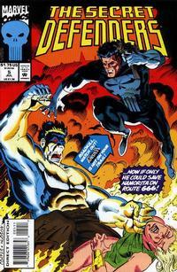 Cover Thumbnail for The Secret Defenders (Marvel, 1993 series) #5