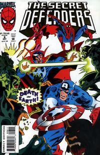 Cover Thumbnail for The Secret Defenders (Marvel, 1993 series) #8