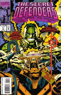 Cover Thumbnail for The Secret Defenders (Marvel, 1993 series) #11