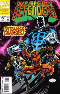 Cover Thumbnail for The Secret Defenders (Marvel, 1993 series) #17