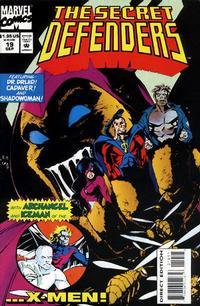 Cover Thumbnail for The Secret Defenders (Marvel, 1993 series) #19