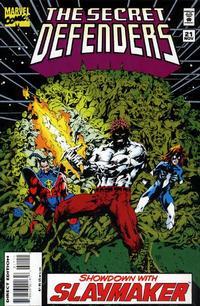 Cover Thumbnail for The Secret Defenders (Marvel, 1993 series) #21