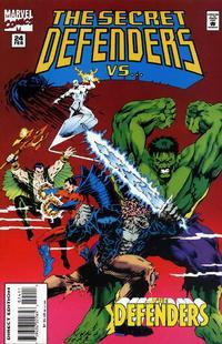 Cover Thumbnail for The Secret Defenders (Marvel, 1993 series) #24