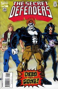 Cover Thumbnail for The Secret Defenders (Marvel, 1993 series) #25