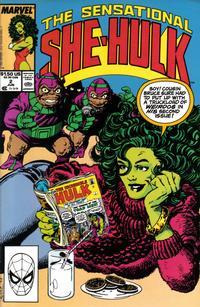 Cover Thumbnail for The Sensational She-Hulk (Marvel, 1989 series) #2