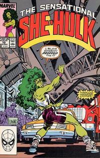Cover Thumbnail for The Sensational She-Hulk (Marvel, 1989 series) #10