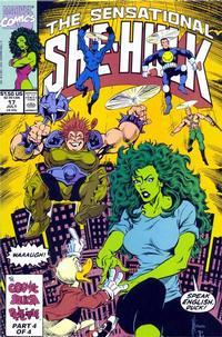 Cover Thumbnail for The Sensational She-Hulk (Marvel, 1989 series) #17