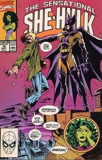 Cover Thumbnail for The Sensational She-Hulk (Marvel, 1989 series) #19