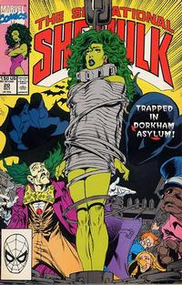 Cover Thumbnail for The Sensational She-Hulk (Marvel, 1989 series) #20