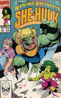 Cover Thumbnail for The Sensational She-Hulk (Marvel, 1989 series) #21