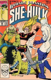 Cover Thumbnail for The Sensational She-Hulk (Marvel, 1989 series) #23