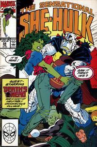 Cover Thumbnail for The Sensational She-Hulk (Marvel, 1989 series) #24