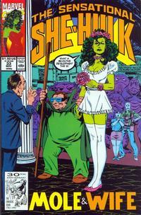 Cover for The Sensational She-Hulk (Marvel, 1989 series) #33
