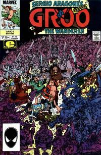 Cover Thumbnail for Sergio Aragonés Groo the Wanderer (Marvel, 1985 series) #3 [Direct Edition]
