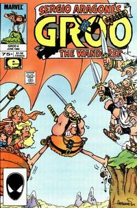 Cover for Sergio Aragonés Groo the Wanderer (Marvel, 1985 series) #4 [Direct Edition]