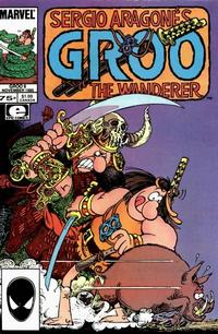 Cover for Sergio Aragonés Groo the Wanderer (Marvel, 1985 series) #9 [Newsstand Edition]