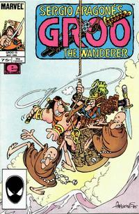Cover Thumbnail for Sergio Aragonés Groo the Wanderer (Marvel, 1985 series) #15 [Direct Edition]