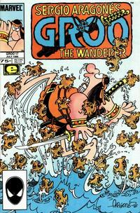 Cover Thumbnail for Sergio Aragonés Groo the Wanderer (Marvel, 1985 series) #17 [Direct]