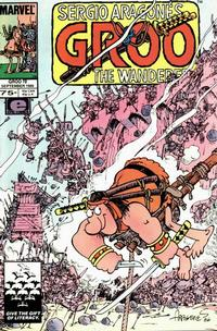 Cover Thumbnail for Sergio Aragonés Groo the Wanderer (Marvel, 1985 series) #19 [Direct Edition]