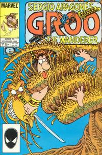 Cover Thumbnail for Sergio Aragonés Groo the Wanderer (Marvel, 1985 series) #21 [Direct Edition]
