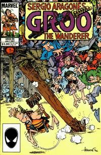 Cover Thumbnail for Sergio Aragonés Groo the Wanderer (Marvel, 1985 series) #29 [Direct Edition]