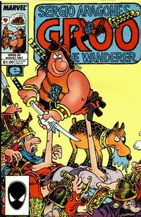 Cover Thumbnail for Sergio Aragonés Groo the Wanderer (Marvel, 1985 series) #30 [Direct Edition]