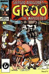 Cover Thumbnail for Sergio Aragonés Groo the Wanderer (Marvel, 1985 series) #31 [Direct Edition]