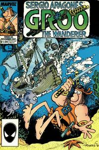 Cover Thumbnail for Sergio Aragonés Groo the Wanderer (Marvel, 1985 series) #33 [Direct Edition]